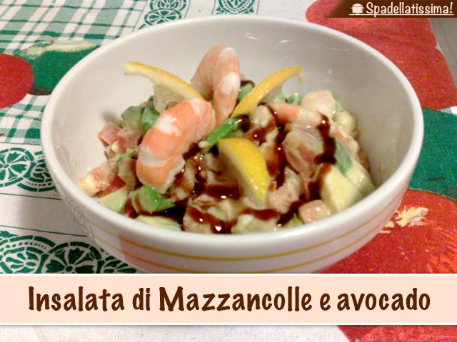Insalata di Mazzancolle e avocado