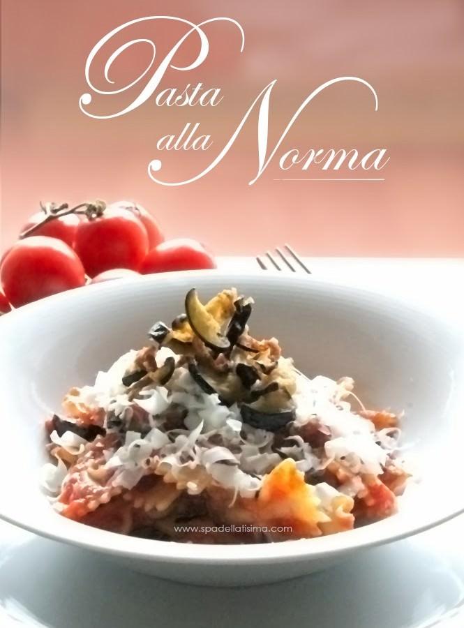 Il mio piatto forte? La pasta alla Norma…a modo mio!