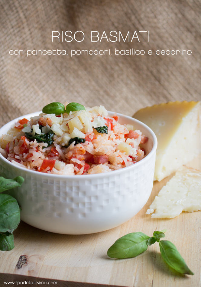 Riso_basmati_pancetta_pomodori_basilico_pecorino