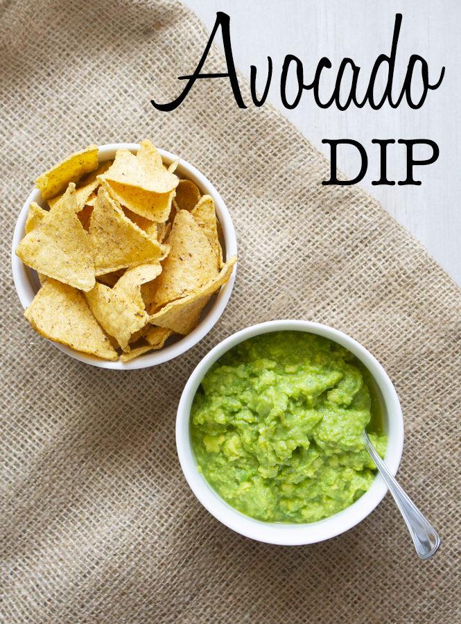 Avocado dip – ovvero salsa all'avocado