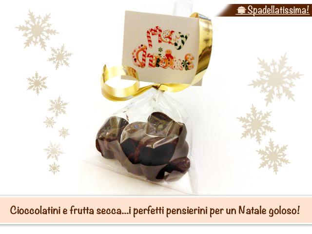 Cioccolatini e frutta secca…i perfetti pensierini per un Natale goloso!