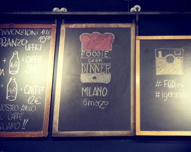 Foodie Geek Dinner di Milano…io c'ero ^_^