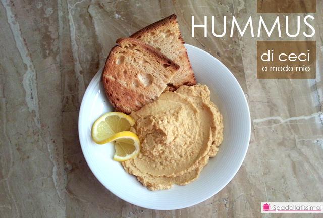 Hummus di ceci a modo mio