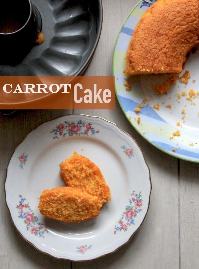 Torta alle carote (senza glutine)