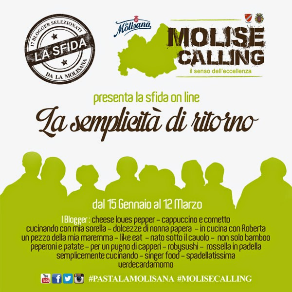#MoliseCalling, #PastaLaMolisana e la staffetta dei Food Blogger