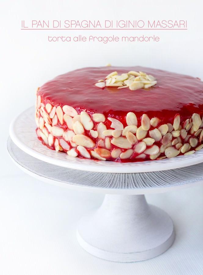 Il Pan di Spagna di Iginio Massari e la mia torta alle fragole