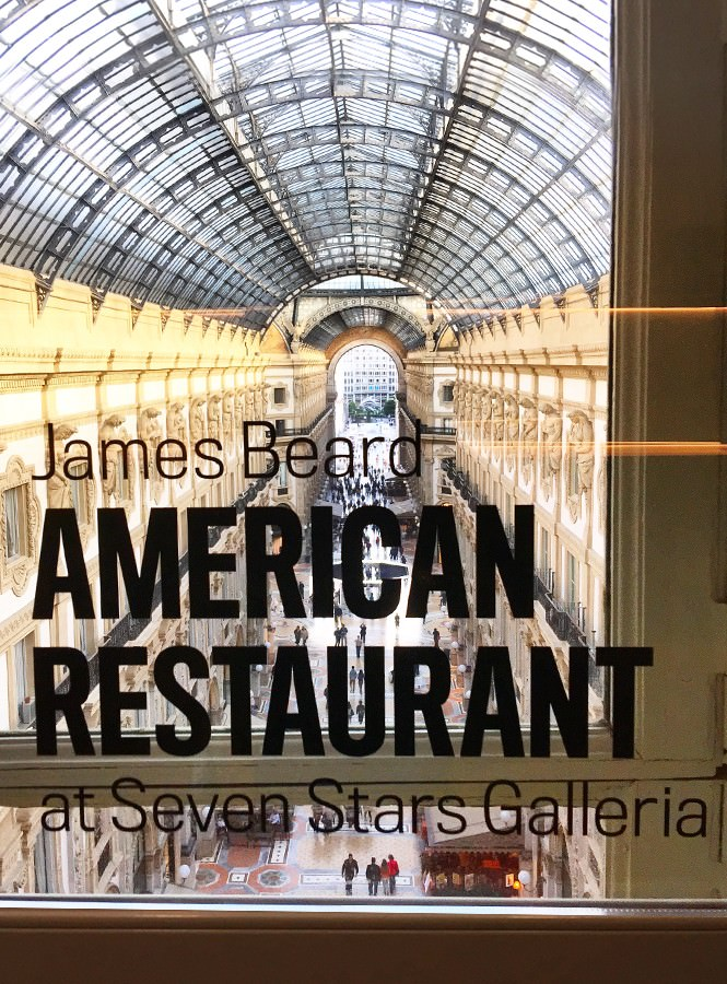 James Beard American Restaurant at Seven Stars Galleria – il pop up restaurant del padiglione USA