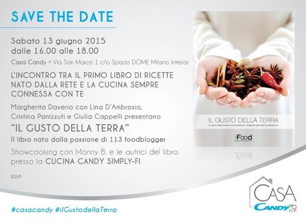 Casa Candy e Il gusto della Terra, Sabato 13 Giugno a Milano