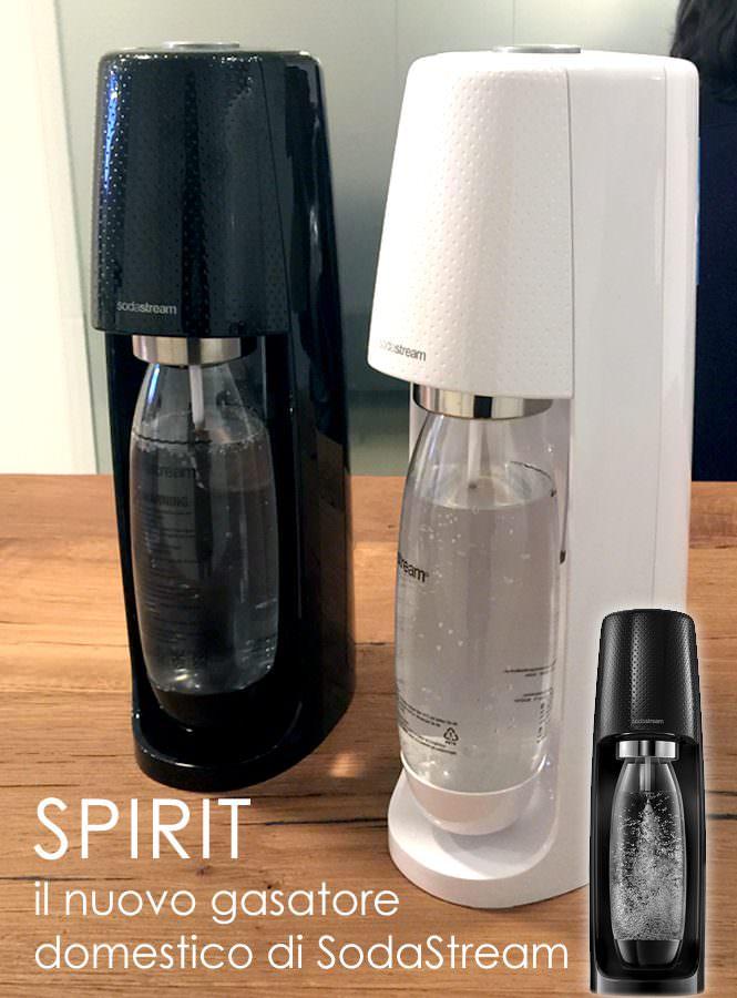 SodaStream presenta Spirit
