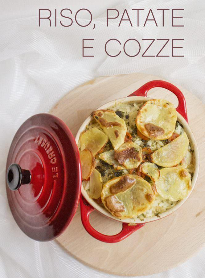 Riso, patate e cozze…in cocotte!